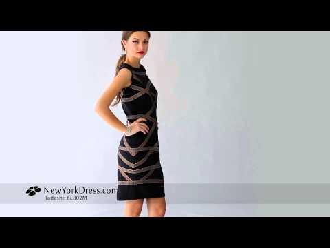 Tadashi 6L802M Dress - NewYork Dress.com