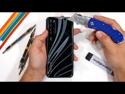 Worlds FIRST Under Display Camera?! - Durability Test!