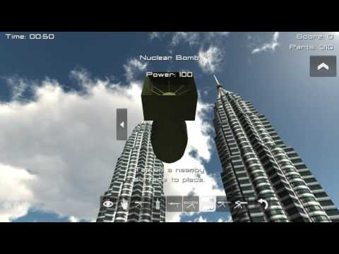 Demolition 3D: Crash into the Petronas Twin Towers!