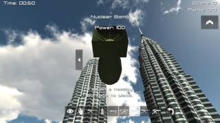vuclip Demolition 3D: Crash into the Petronas Twin Towers!
