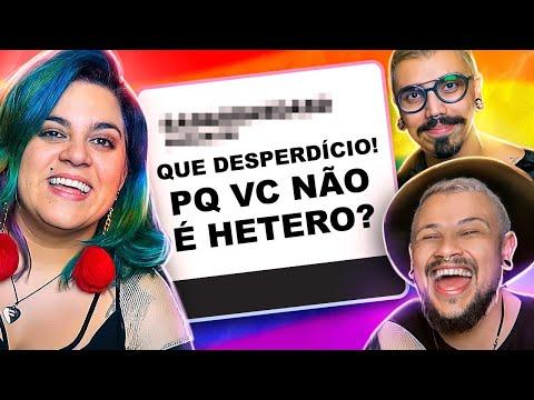 PERGUNTAS QUE FAZEM P/ UM CASAL GAY feat. Diva Depressão - Nunca Te Pedi Nada