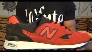 "Видеообзор New Balance 577 ""Red/Black"" Made In England от Свистова Арсения"