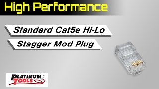 Standard CAT5e High Performance Connectors