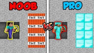 Minecraft NOOB vs. PRO: MINING BATTLE! in Minecraft!