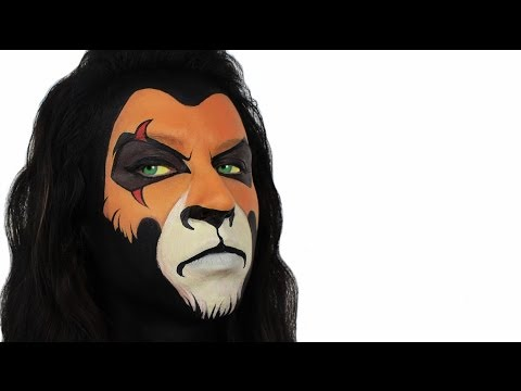 scar-|-the-lion-king-face-painting