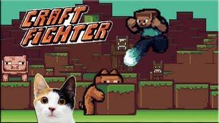 [часть 07] CraftFighter - бой с кошкой :D