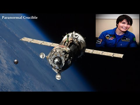 Astronaut Cries Out In Shock At UFO Sighting?