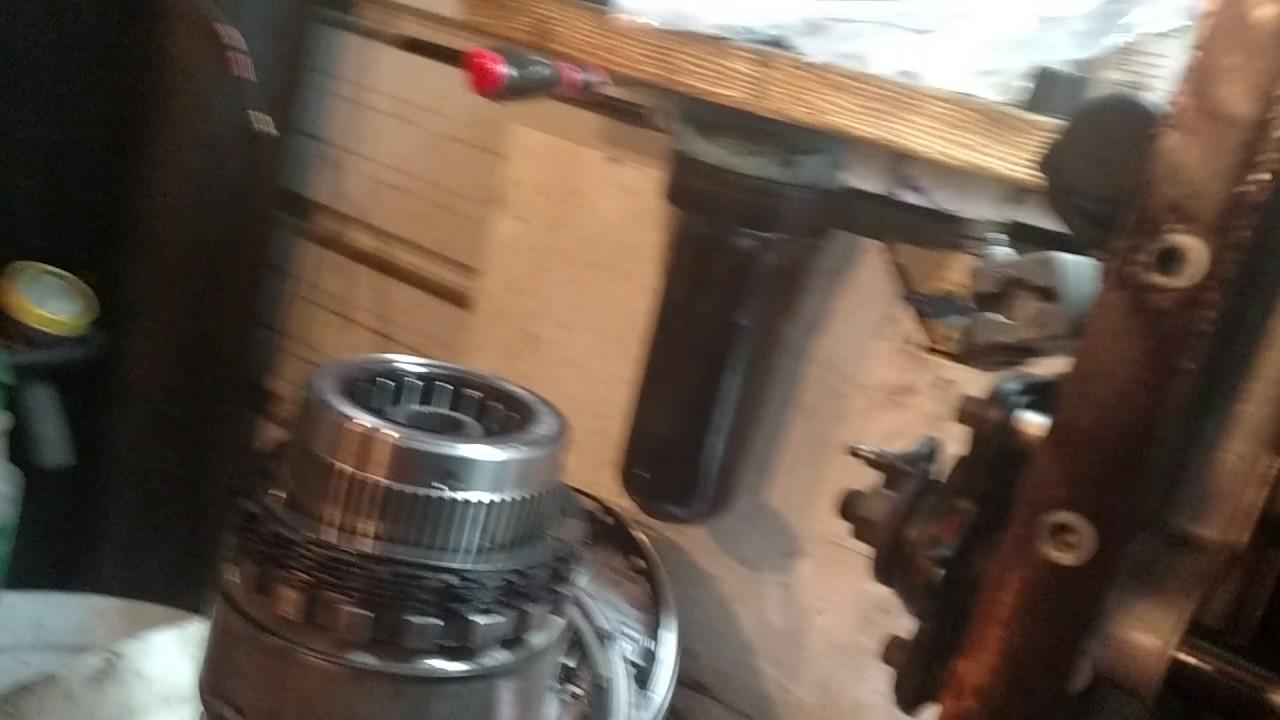 E4od 4r100 low reverse return spring installation trick