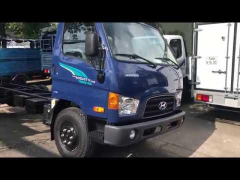 Xe tải Hyundai 110S tải trọng 7 tấn - YouTube