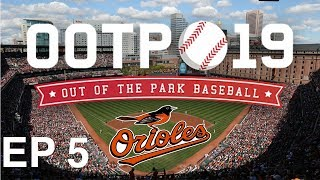 Out of the Park Baseball (OOTP) 19: Baltimore Orioles Franchise EP 5: AUGUST RECAP