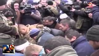 Донецк! Униженные пленных УКРОпов(http://ovechka.net.ua/ - интернет-магазин