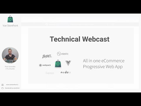 Vue Storefront Setup - #02 Technical Webcast