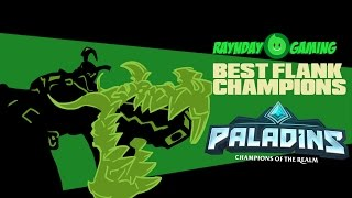 The Top 4 Best Flank Champions In Paladins! (Competitive Tierlist)