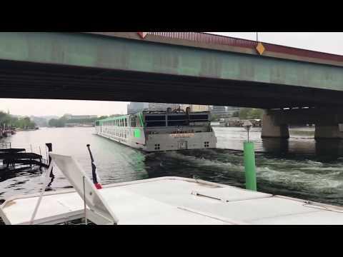 River Seine - River cruise ship