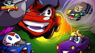 Roket Ligi: Rumble! | GÜÇ İNİŞ VE ÇIKIŞLAR YENDİ! (CaRtOoNz & Bryce vs H2O Delirious & Ohmwrecker)