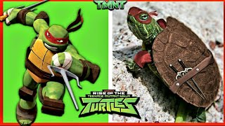 Teenage Mutant Ninja Turtles TMNT in Real Life (Cartoon Movie Legends Rise 2020)