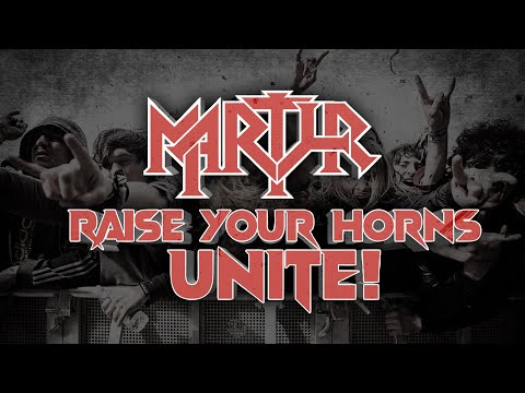 MARTYR - Raise Your Horns, Unite! (Official Video)