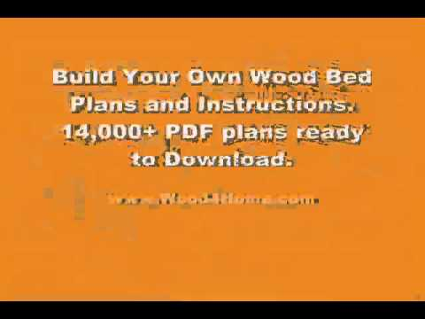 how-to-build-a-wood-bed---download-plans---ted's-woodworking---tedswoodworking.com
