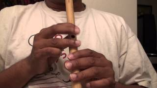 """Woh Chand Khila Woh Tare Hasen hindi song on flute - """"Travails with my flute"""""""