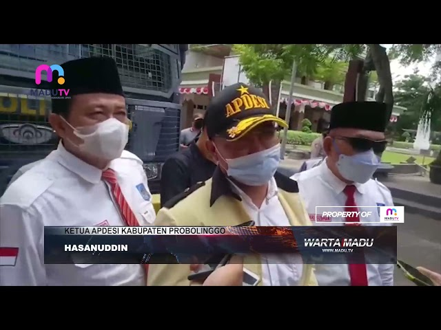 Probolinggo - Tuntut Kejelasan Pilkades, Ribuan Massa Melurug Kantor Bupati