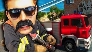 Paluten der FEUERWEHRMANN! | Flughafen Feuerwehr-Simulator