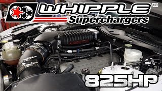 825 HP 2.9L Stage 2 Whipple Install on a S550 2016 Mustang GT