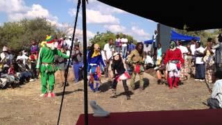 Nyau dancers - Chitungwiza Arts Centre, Zimbabwe