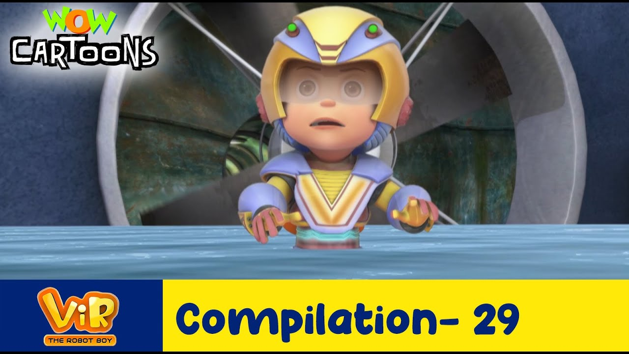 Vir the robot boy | Action Cartoon Video | New Compilation - 29| Kids Cartoons | Wow Cartoons
