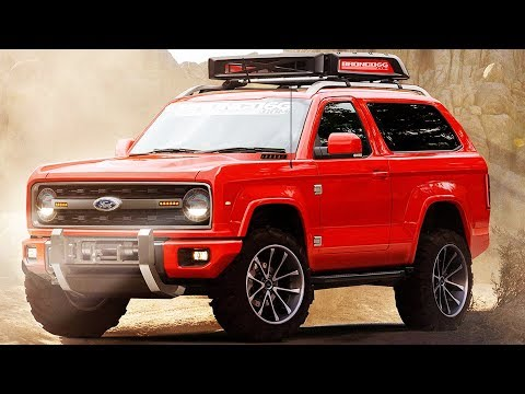 Ford Bronco FIRST LOOK (Rendering)