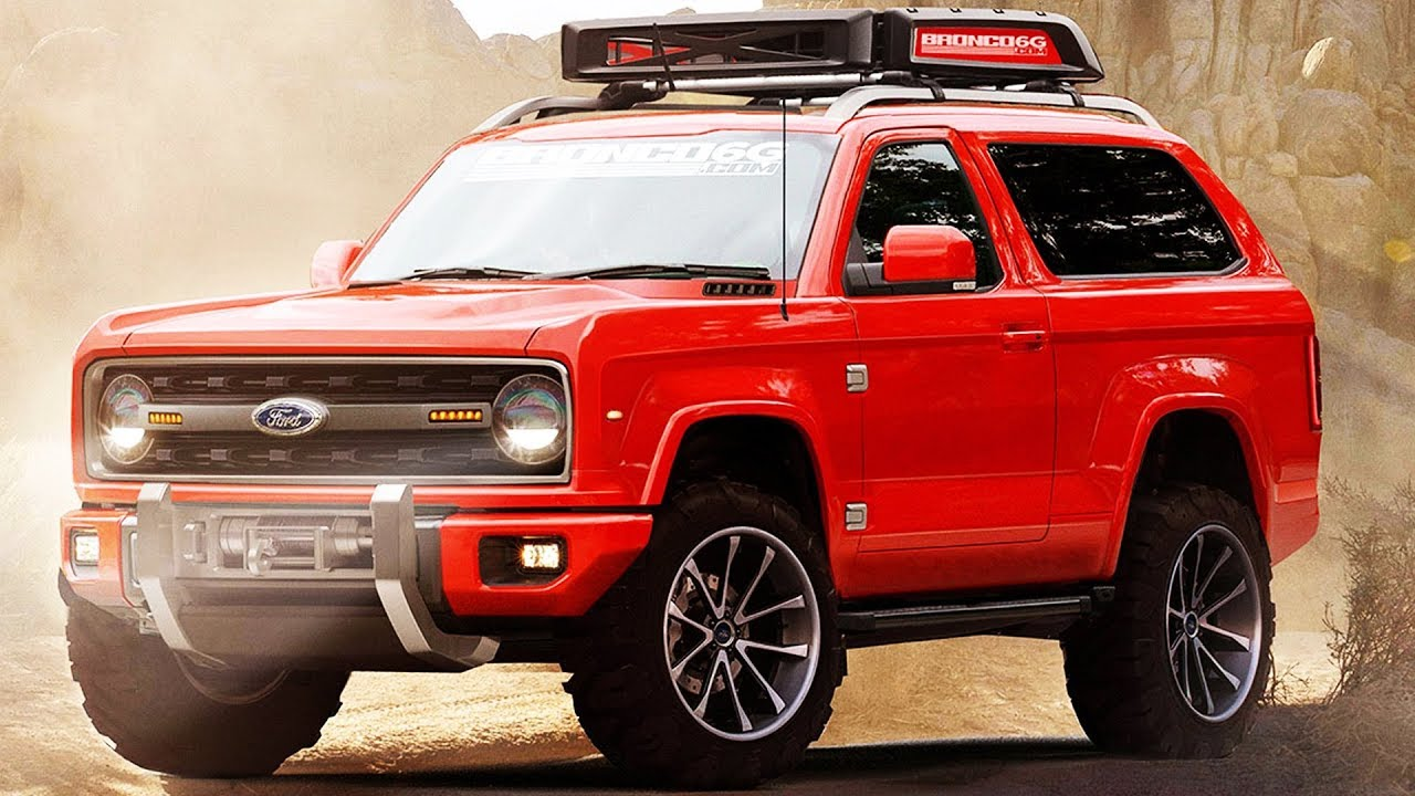 2020 Ford Bronco FIRST LOOK (Rendering)