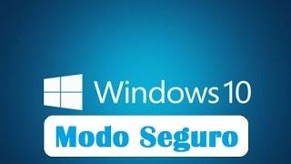 Como acceder al modo a prueba de fallos en Windows 10 (Modo seguro)
