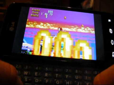 Sega 32x/CD Android Emulators: Chaotix and Sonic CD ...