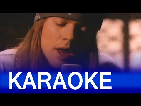 Guns N' Roses - Patience - Lyrics [Karaoke]