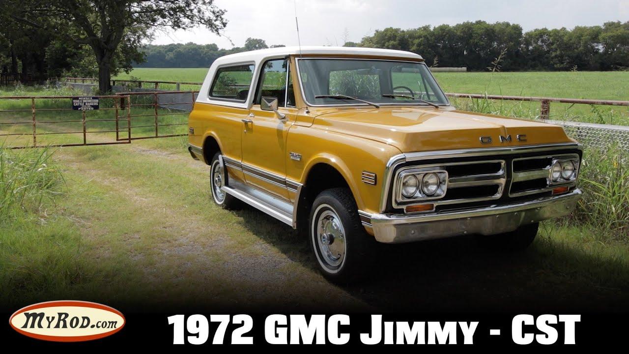 This is a true survivor! 1972 GMC Jimmy CST 4x4 - MyRod ...