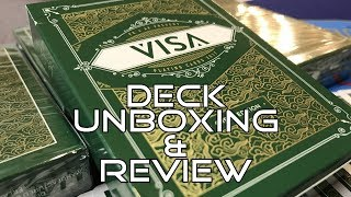 VISA Playing Cards - Unboxing & Review - Ep2 - Inside the Casino