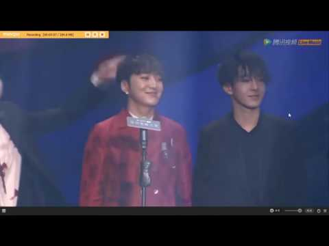 [160728]WINNER Award Acceptance for the Most Popular Overseas Group at MTV AMG 2016