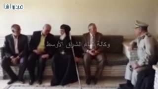 بالفيديو : محافظ المنيا يزور دير السيدة العذراء بجبل الطير4
