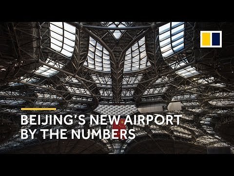 Beijing's new international airport by the numbers