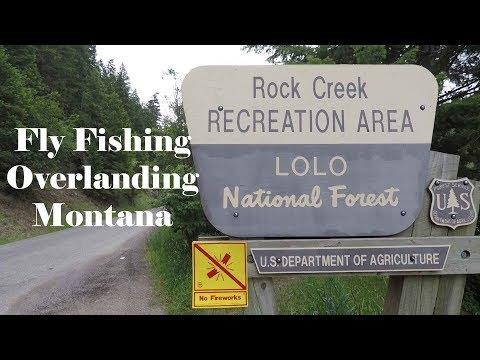 Fly Fishing Rock Creek Montana Living Fulltime On The Road