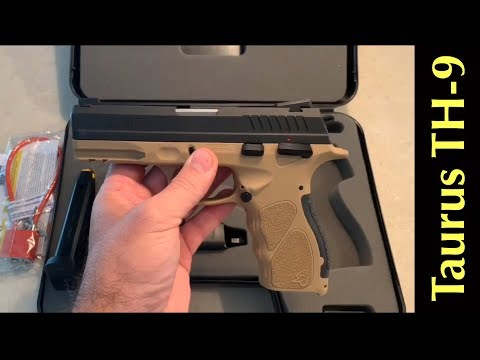 Repeat Taurus TH-9 Unboxing | Budget 9mm by Shiny Knife