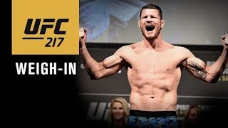 UFC 217: Official Weigh-in