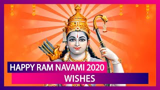 Happy Ram Navami 2020 Wishes: WhatsApp Messages, Greetings & Images to Celebrate Birth of Lord Rama