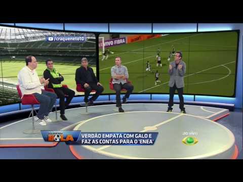 Praetzel E Neto Discutem Sobre Pressão No Palmeiras