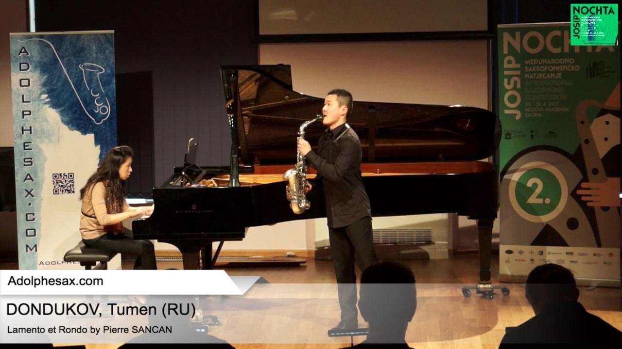 Lamento et Rondo (Pierre Sancan) - DONDUKOV, Tumen (Russia)