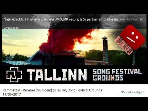Rammstein - Ramm4 [Multicam] @Tallinn, Song Festival Grounds 11/06/2017