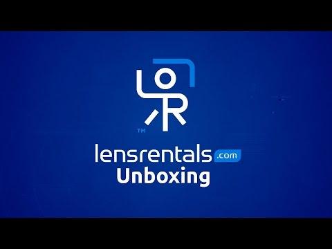 Rental Gear Day! LensRentals Unboxing