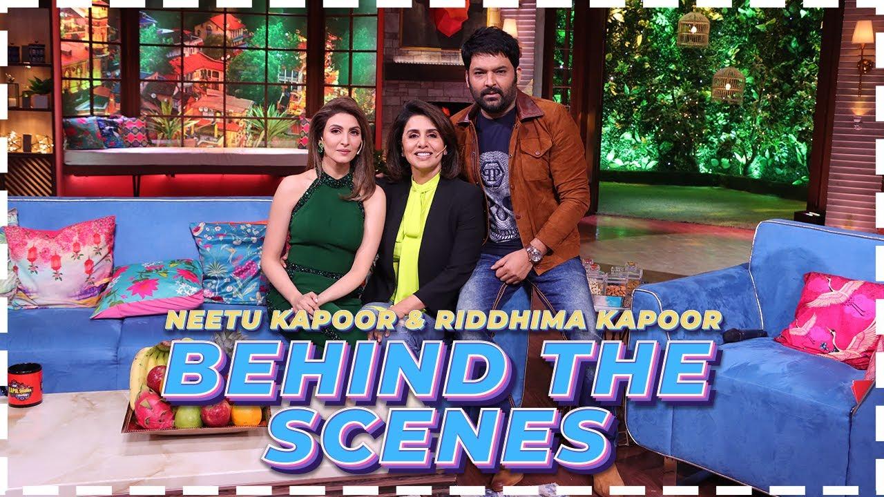 Download Behind The Scenes With Neetu Ji | The Kapil Sharma Show | Neetu Kapoor, Riddhima Kapoor
