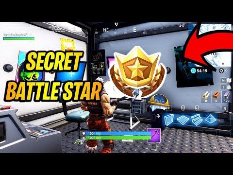 Secret Battle Star Location Week 2 Season 7 In Fortnite!