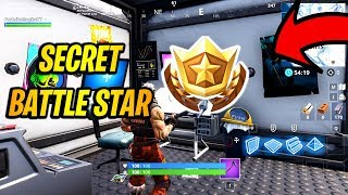 Secret Battle Star Location Week 2 Season 7 In Fortnite!
