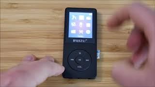 Ruizu x02 - Test du lecteur MP3 & FLAC 2ème meilleure vente d'AliExpress